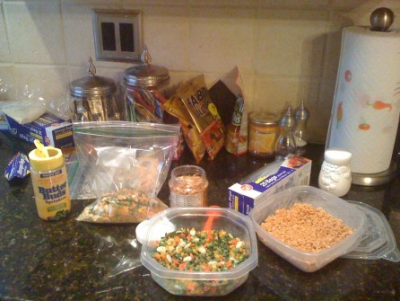 Trail Food Prep