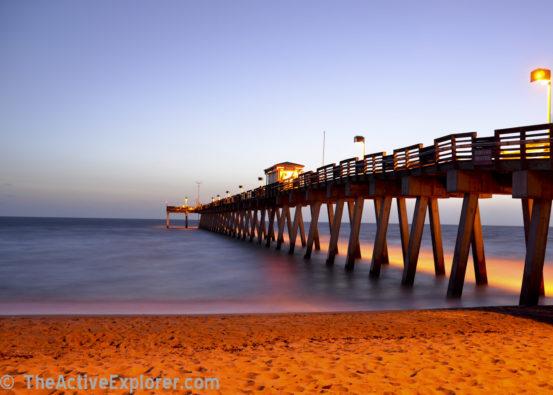 Sharky's Pier Sunset