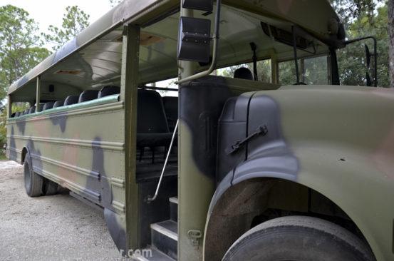 Bus at Babcock Ranch