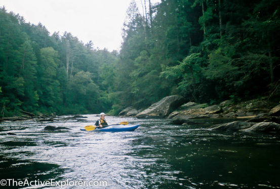 Brian on the Chattooga