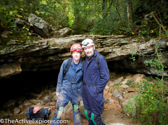Caving with Dad