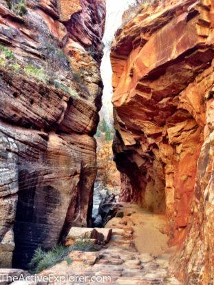 Echo Canyon slot.