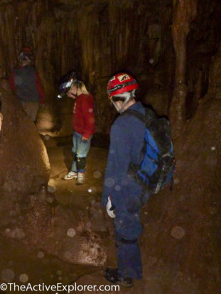Caving with young kids again was a blast.