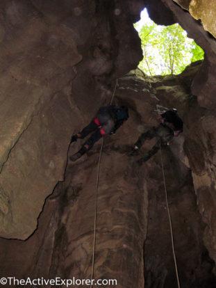 Signal Light Cave Rappel