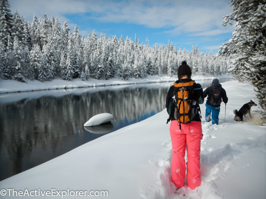 Snowshoeing The Idaho River