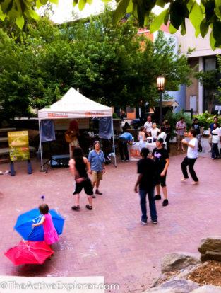 Downtown Asheville Park