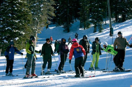 Brighton Ski School Class