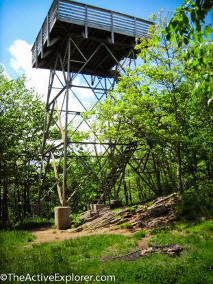 AT fire tower NC