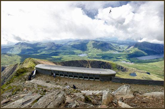 Mount Snowdon - Snowdonia National Park - Llanberis - Gwynedd - North Wales - United Kingdom