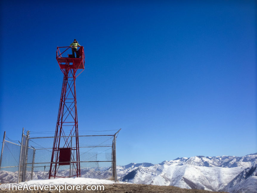 Aviation Beacon on Mount Wire