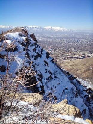 View along Red Butte ridge