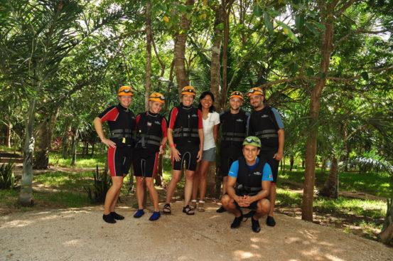 Blogger Gang ready to explore Rio Secreto