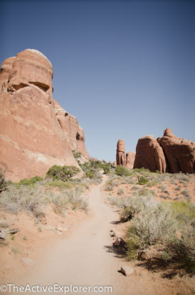 An easy trail to Landscape Arch