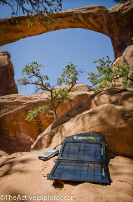 Goal Zero at Arches National Park