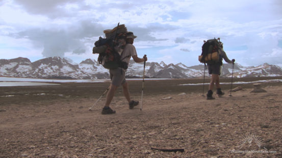 Hikers on the PCT