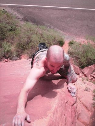 Climbing in Moab 2