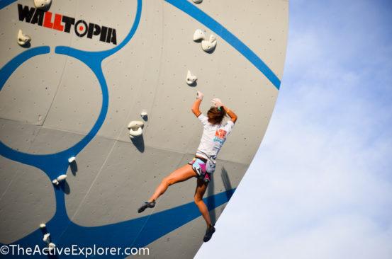 Psicobloc Climber Fall
