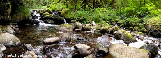 Oneonta Creek Pano