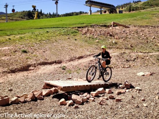 The Skills Park at Canyons Resort