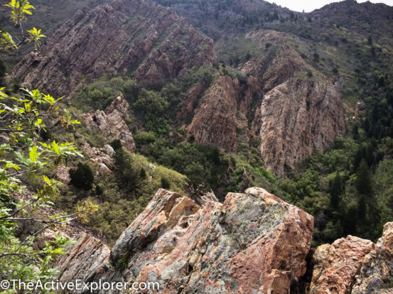 Mount Olympus, Shoreline to Tolcats Canyon