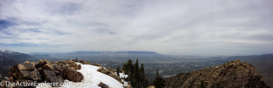 Mount Olympus, Salt Lake Valley and Oquirrh Range