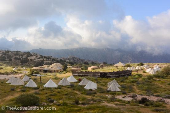 Tents of Rummana Camp, Jordan
