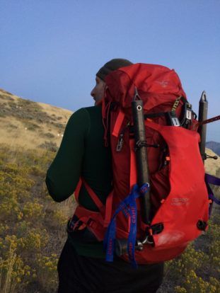 I loaded the variant with over 30 lbs of winter climbing gear for an initial test hike. It felt comfortable and solid.