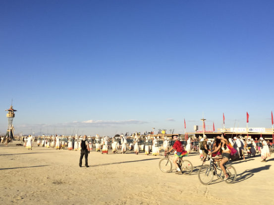 Lamplighters at Burning Man 2014