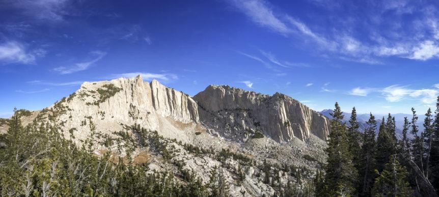 View of Lone Peak From the Ridge - TheActiveExplorer.com