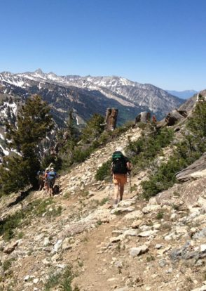 Hiking Alta