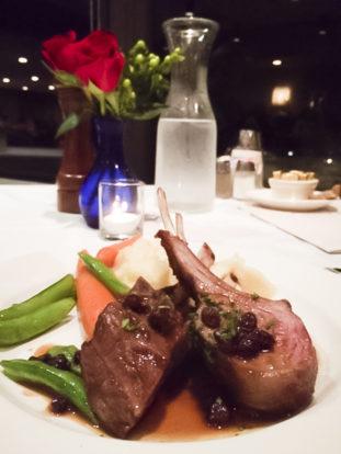 Lamb Chops Alta Lodge Dining