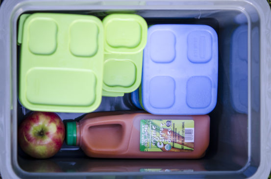 Meal Planning and Packing