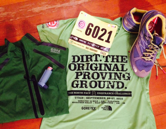 Geared up for the North Face ECS